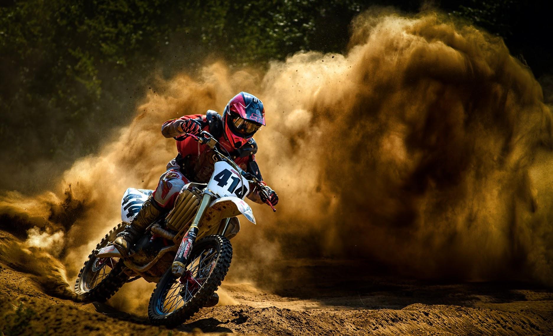 motocross dirt