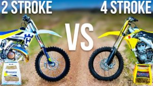What's the difference between 2-stroke and 4-stroke Dirt