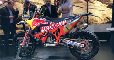 FIRST LOOK KTM's NEW 450 RALLY BIKE JUST AHEAD OF DAKAR's START