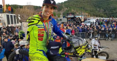 MARIO ROMAN WINS ALESTREM HARD ENDURO