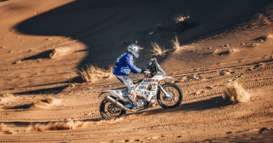 ULLEVALSETER SETS PACE IN AFRICA ECO RACE