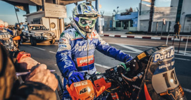 CECI TAKES FIRST STAGE WIN IN AFRICA ECO RACE