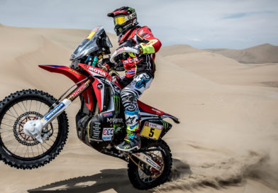 BARREDA OUT TO EARLY LEAD IN DAKAR