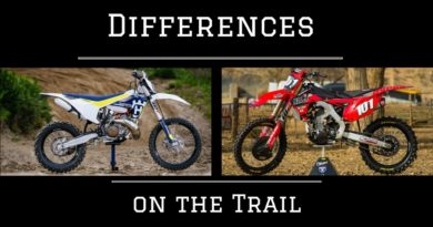 TRAIL RIDING: WHAT'S THE EXACT DIFFERENCE BETWEEN A MOTOCROSS BIKE AND AN ENDURO BIKE?