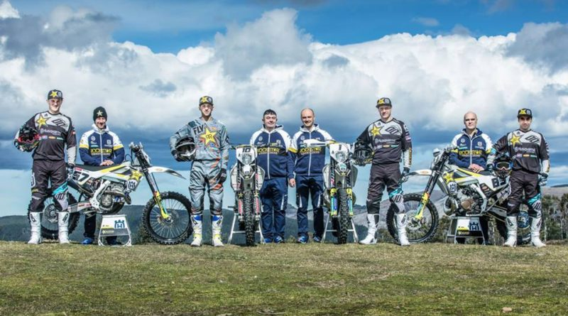 ROCKSTAR ENERGY HUSQVARNA FACTORY RACING IS ARMED AND READY FOR THE WESS 2018!