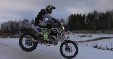 WATCH: FIRST TEST ON THE CHINESE DIRT BIKE GP TSE250R