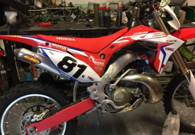 HONDA CRE 250: ITALY'S LIMITED EDITION ENDURO BIKE