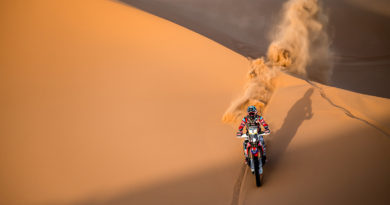HONDA RIDERS TOOK CONTROL OF 2018 MERZOUGA RALLY'S EARLY STAGES