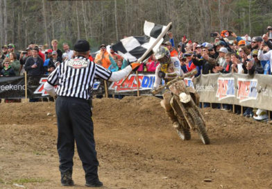 DUVALL AND RUSSELL'S EPIC BATTLE FOR THE WIN AT GNCC STEELE CREEK