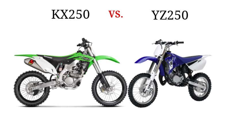 kx250 vs yz250