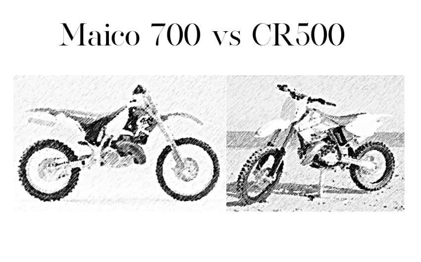 maico 700 vs cr500