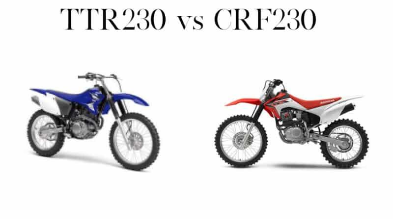 ttr230 vs crf230
