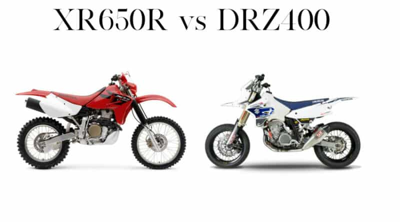 xr650r vs drz400