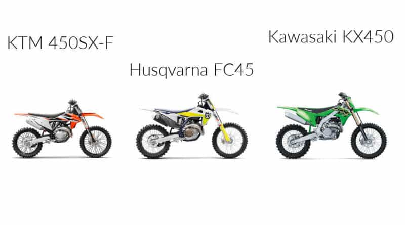 2021 Best Dirt Bike: KTM 450 SX-F Vs. Husqvarna FC 450 Vs. Kawasaki KX450: