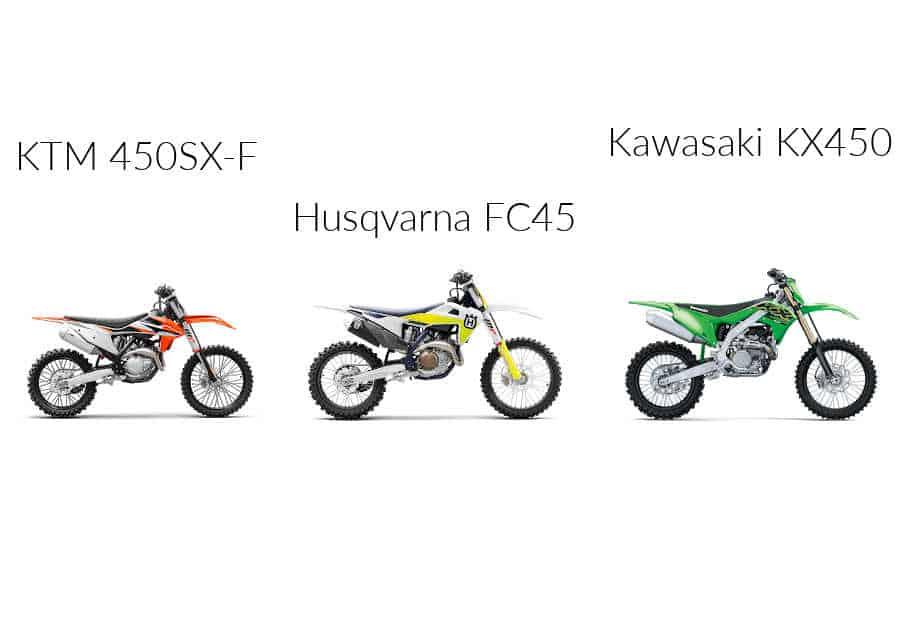 2021 Best Dirt Bike: KTM 450 SX-F Vs. Husqvarna FC 450 Vs. Kawasaki KX450:
