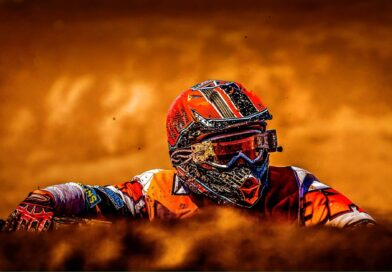 Why does a dirt bike helmet differ from other helmets?