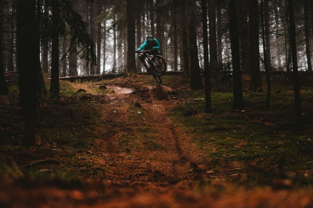 bmx woods riding
